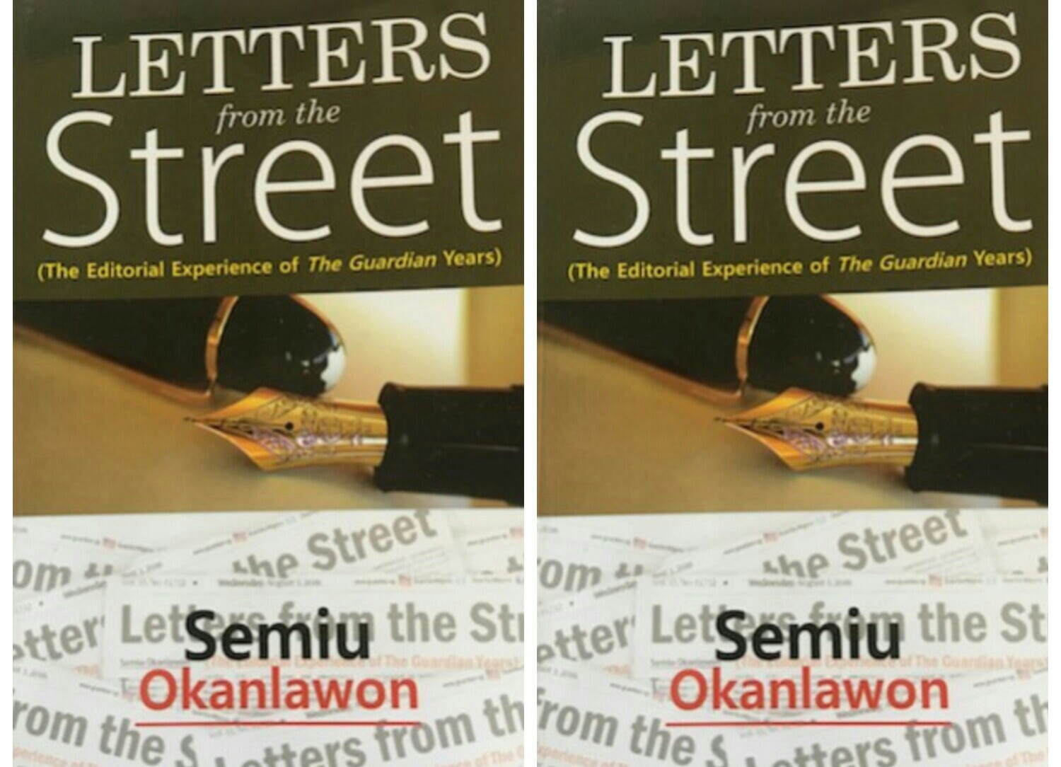 Letters from the Street: History and the Burdens of Journalism