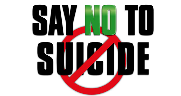 Say No To Suicide by Adenike Gracie