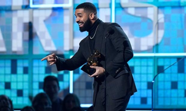 Drake shades Grammys during acceptance speech after winning best rap song