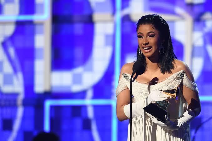 Cardi B wins Best Rap Album at Grammys