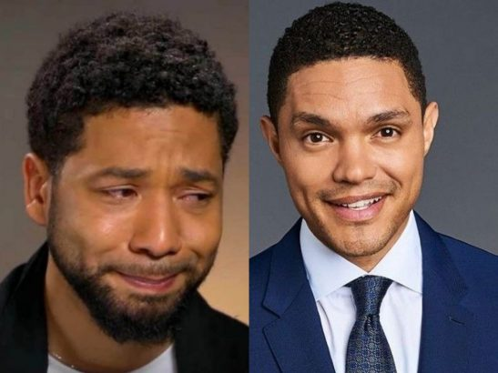 Trevor Noah says Jussie Smollet deserves an Oscar if he lied about attack