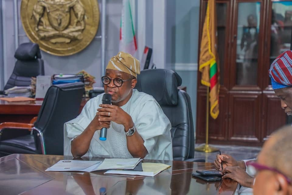 Governor Oyetola appoints SSG, CoS