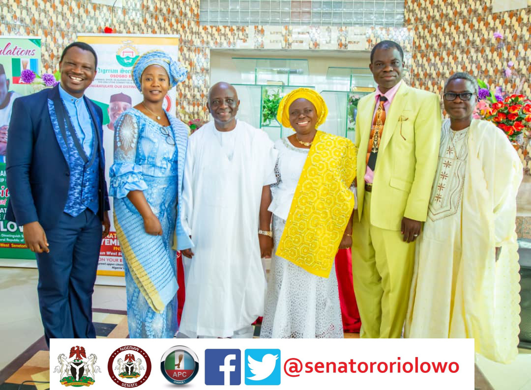 Glitz, glamour at Senator Oriolowo's Inauguration Thanksgiving Service