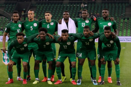 Super Eagles drop to 45th in latest FIFA ranking