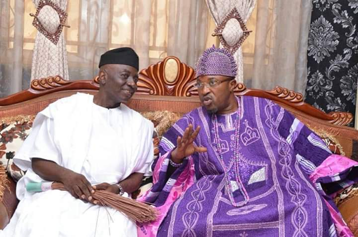 Senator Oriolowo Felicitate with Oluwo on his 52nd Birthday, describe him as a Visionary King