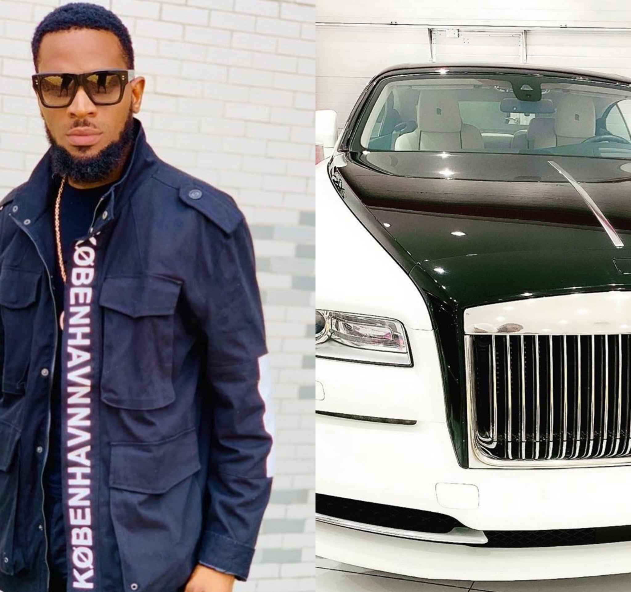 D'banj buys Rolls-Royce Phantom to mark 39th birthday